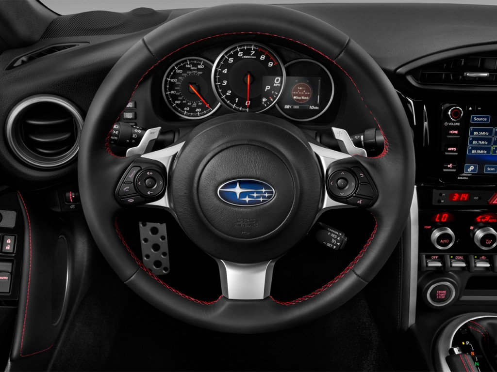image 2017 subaru brz limited auto steering wheel size. Black Bedroom Furniture Sets. Home Design Ideas