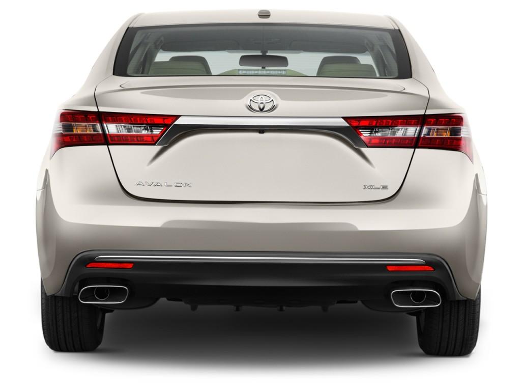 Image 2017 Toyota Avalon Xle Natl Rear Exterior View