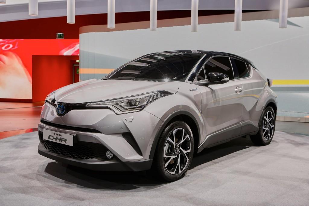 Image: 2018 Toyota C-HR (European spec), 2016 Geneva auto show, size: 1024 x 682, type: gif ...