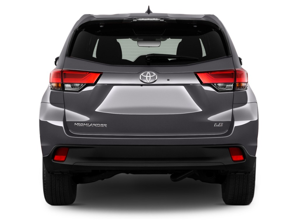 image 2017 toyota highlander le plus v6 fwd natl rear exterior view size 1024 x 768 type. Black Bedroom Furniture Sets. Home Design Ideas