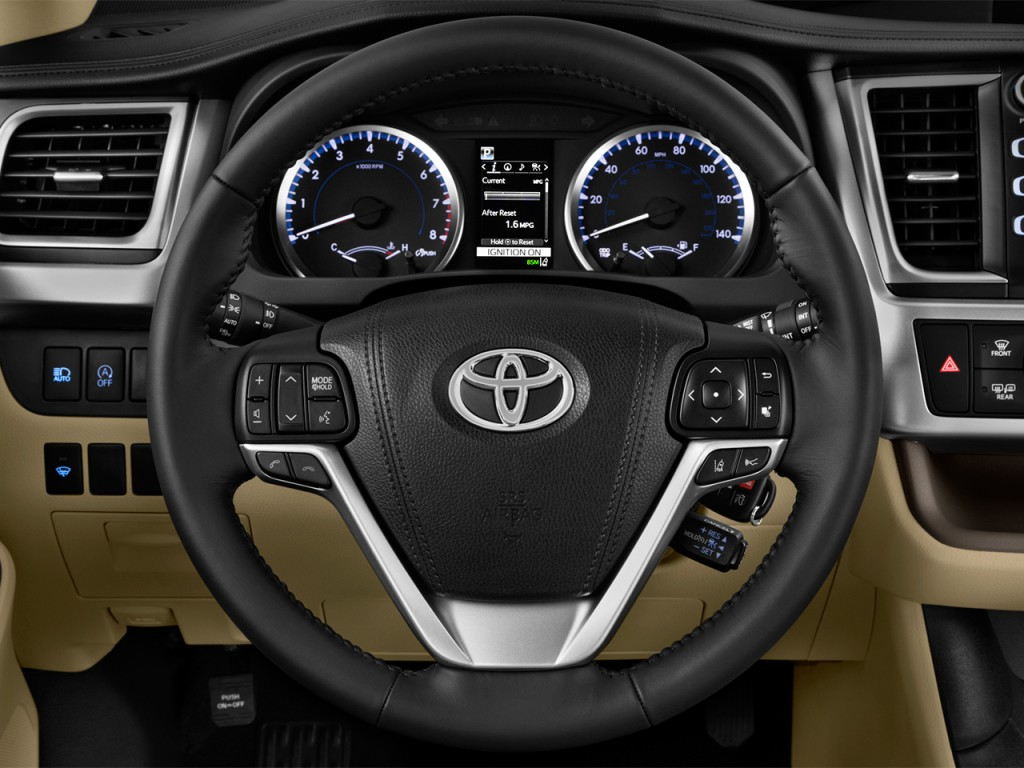 image 2017 toyota highlander le plus v6 fwd natl steering wheel size 1024 x 768 type gif. Black Bedroom Furniture Sets. Home Design Ideas