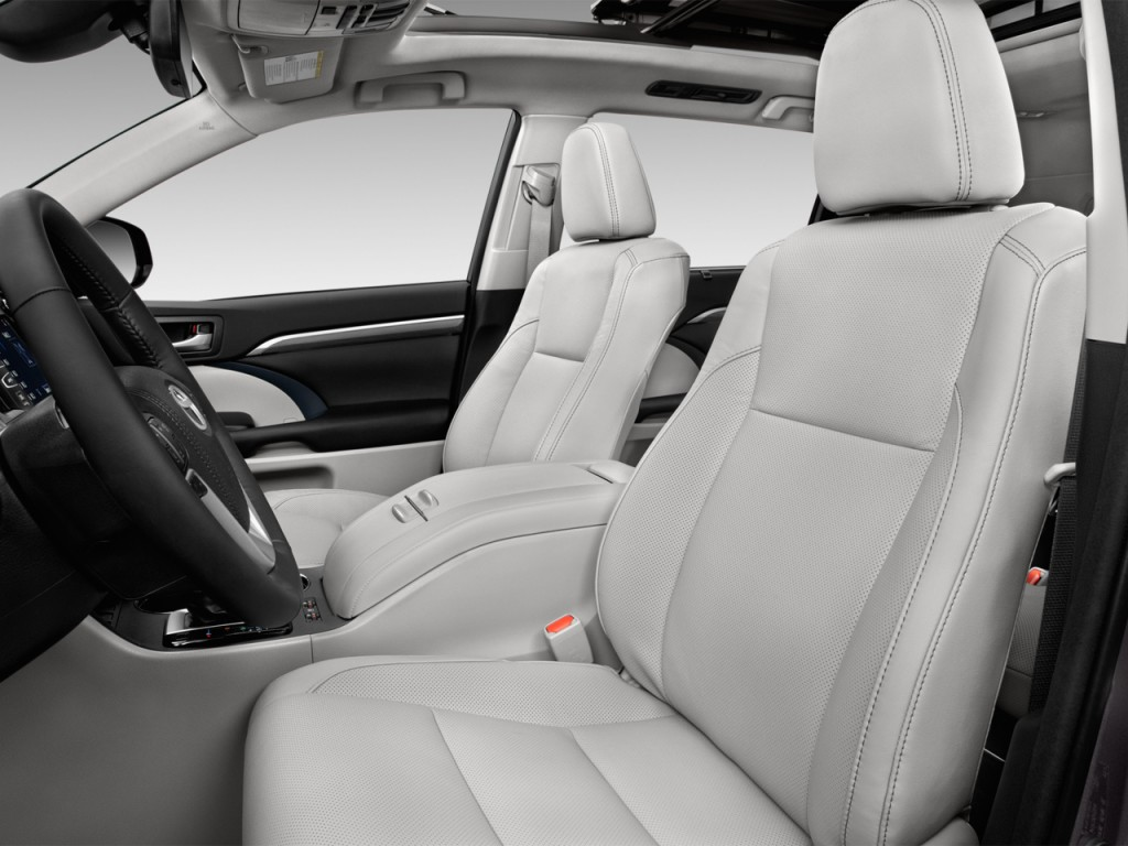 Image 2017 Toyota Highlander Limited Platinum V6 Fwd Natl Front Seats Size 1024 X 768 Type