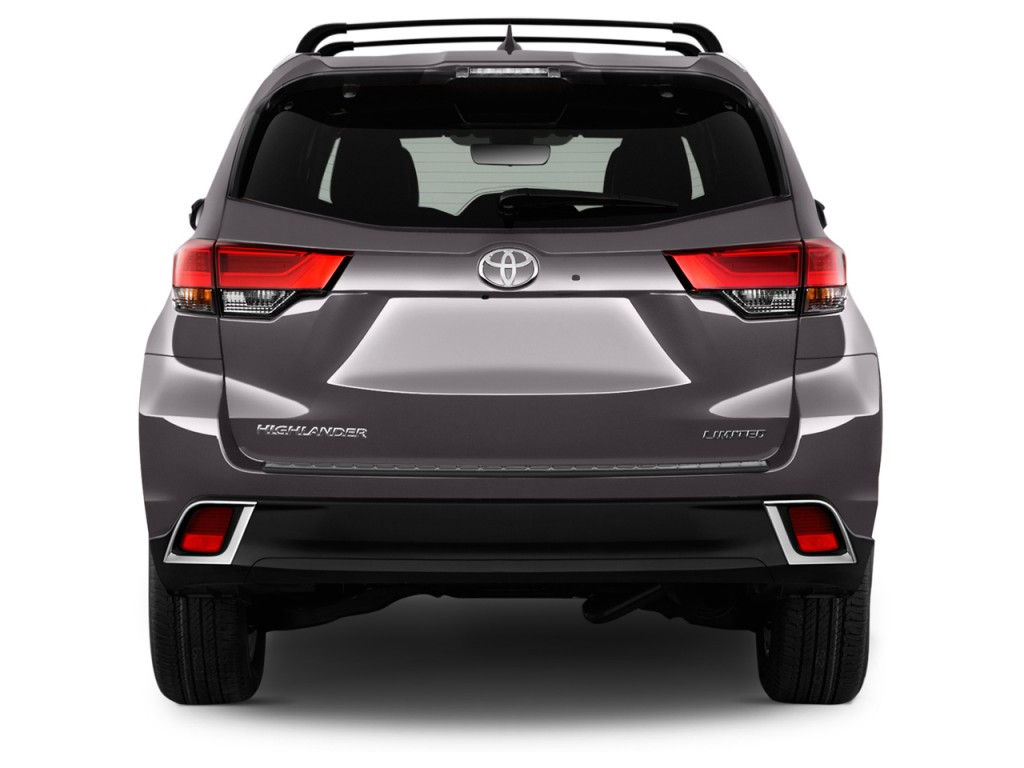 2013 Toyota Tundra For Sale >> Image: 2017 Toyota Highlander Limited Platinum V6 FWD (Natl) Rear Exterior View, size: 1024 x ...