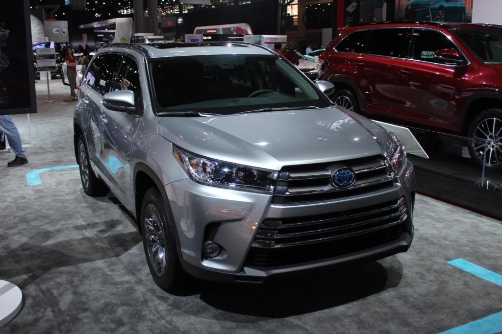 Image: 2017 Toyota Highlander Hybrid - 2016 New York Auto Show iive ...