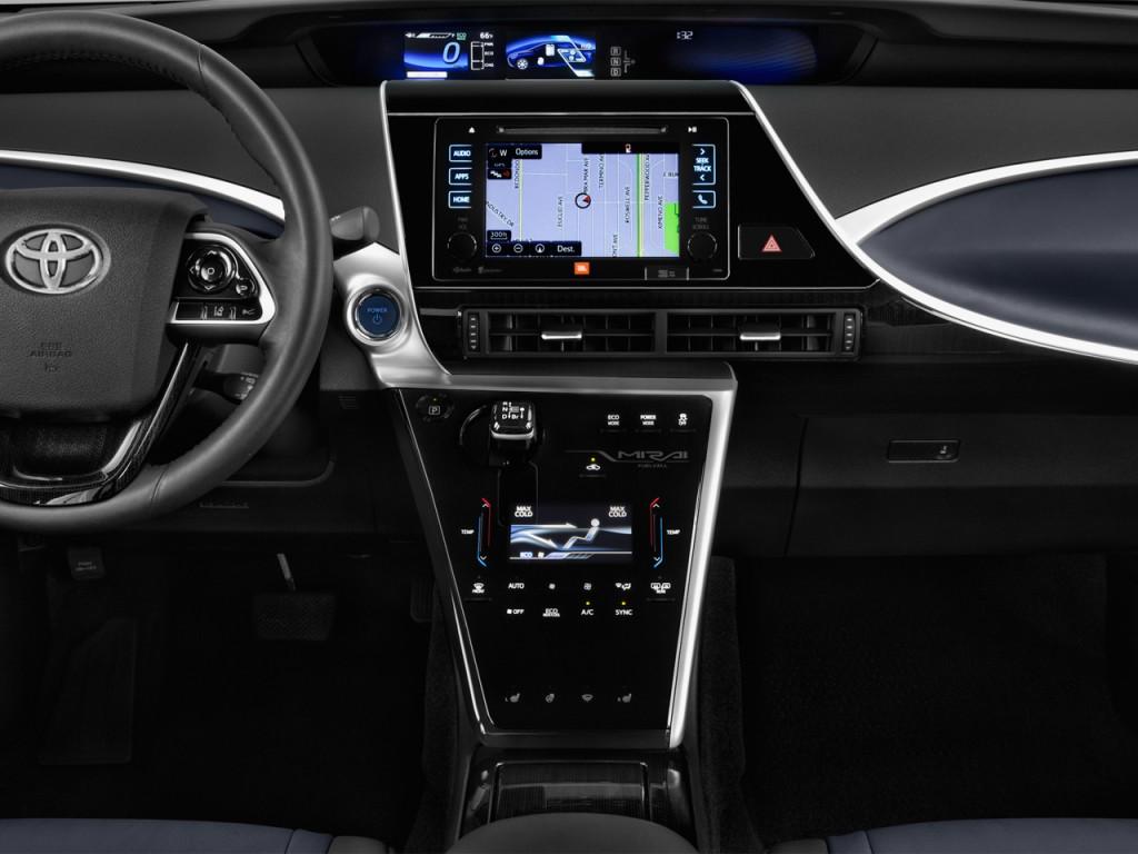 Image 2017 Toyota Mirai Sedan Instrument Panel Size