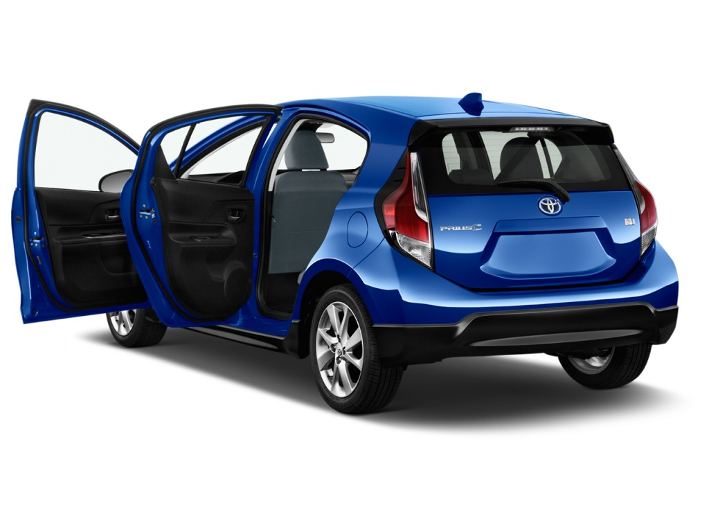 image 2017 toyota prius c four natl open doors size. Black Bedroom Furniture Sets. Home Design Ideas