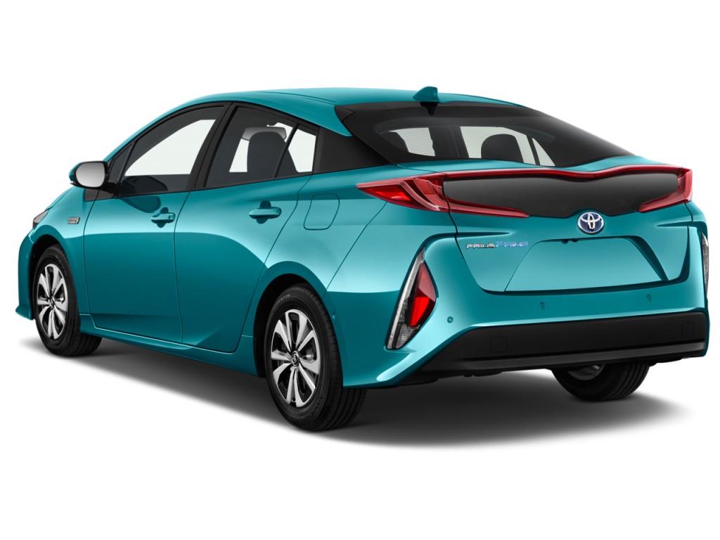 Image 2017 Toyota Prius Four Natl Angular Rear Exterior