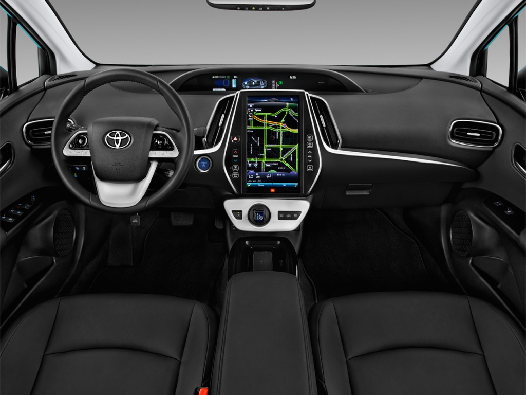 image 2017 toyota prius four natl dashboard size 1024. Black Bedroom Furniture Sets. Home Design Ideas