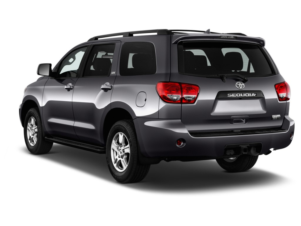 Image 2017 Toyota Sequoia Sr5 Rwd Natl Angular Rear