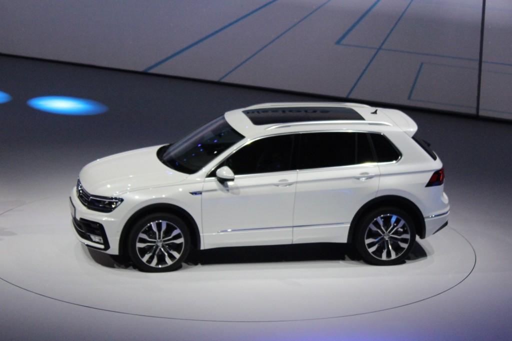 Image: New Volkswagen Tiguan (European-spec), 2015 Frankfurt Auto Show ...