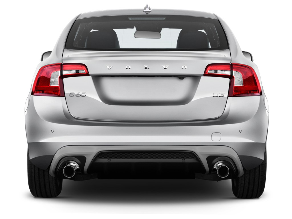 Image: 2017 Volvo S60 T6 AWD R-Design Platinum Rear ...
