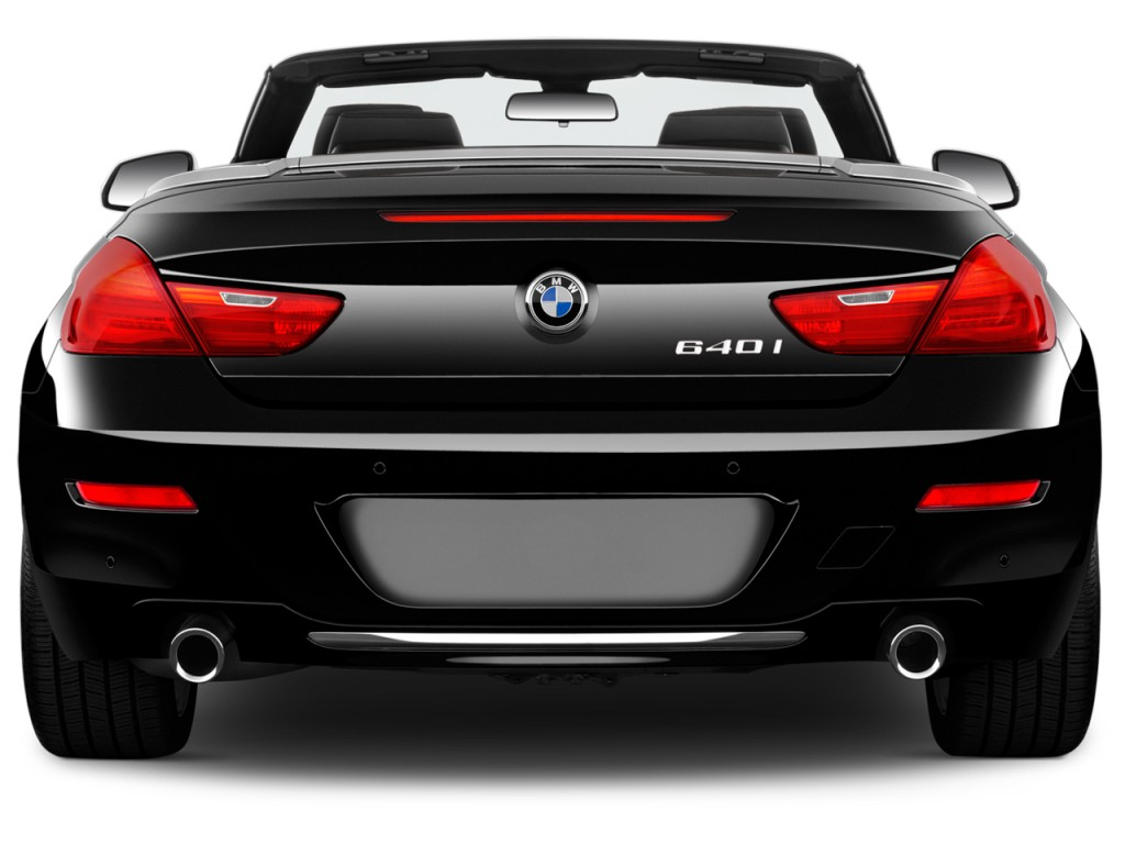 Image 2018 Bmw 6 Series 640i Convertible Rear Exterior