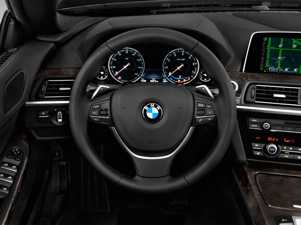 Image 2018 Bmw 6 Series 640i Convertible Steering Wheel