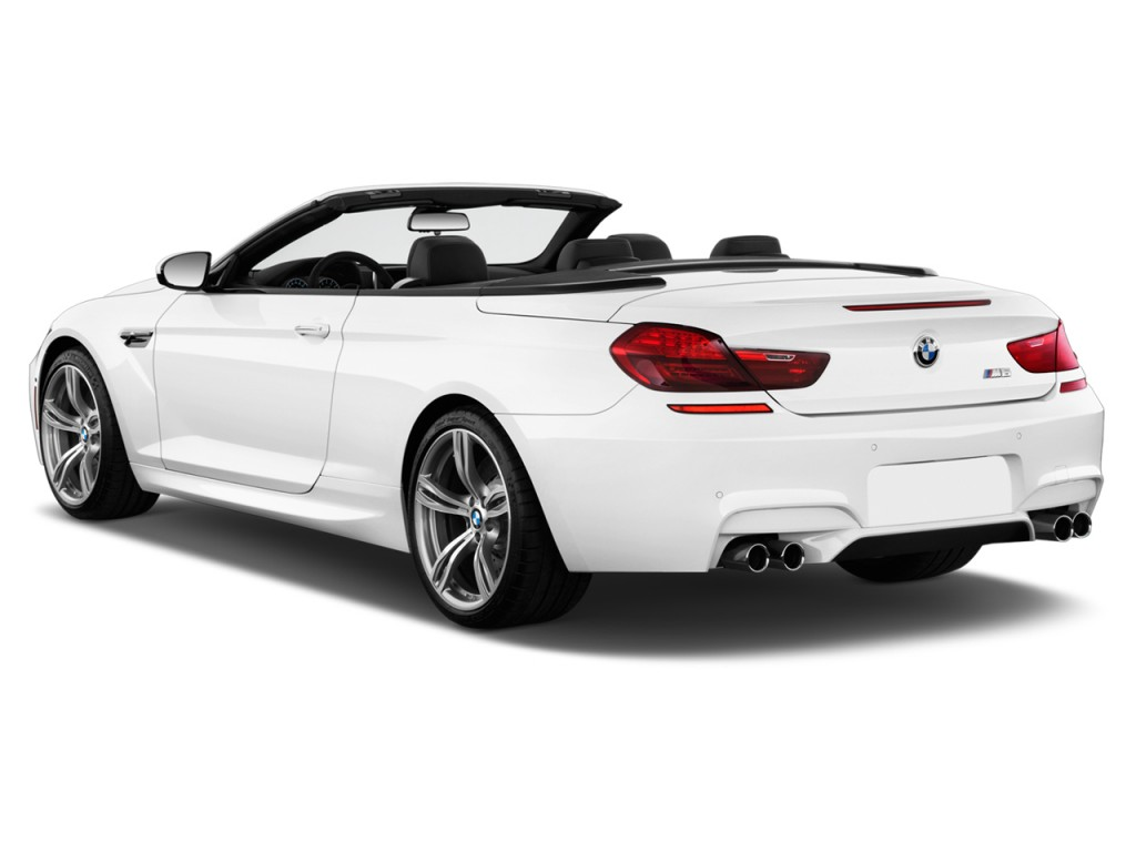 Image 2018 Bmw M6 Convertible Angular Rear Exterior View