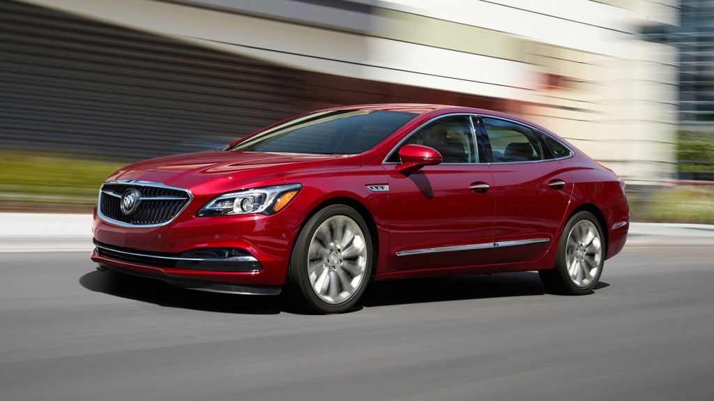 2018 Buick Lacrosse Changes Where You Can T See Them