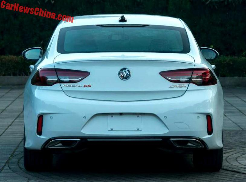 2019 Buick Regal Gs Sportback Spy Shots Nasioc