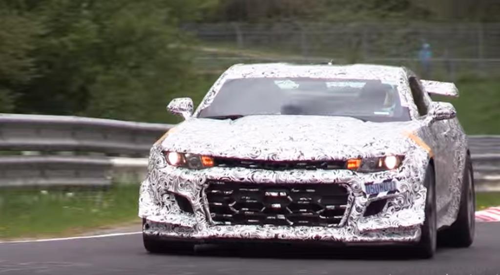 New Chevrolet Camaro Z/28 prototype returns to the 'Ring
