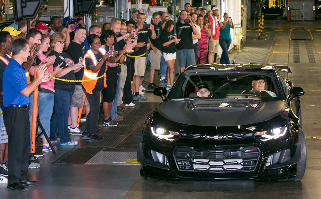 Rick Hendrick takes delivery of first 2018 Chevrolet Camaro ZL1 1LE