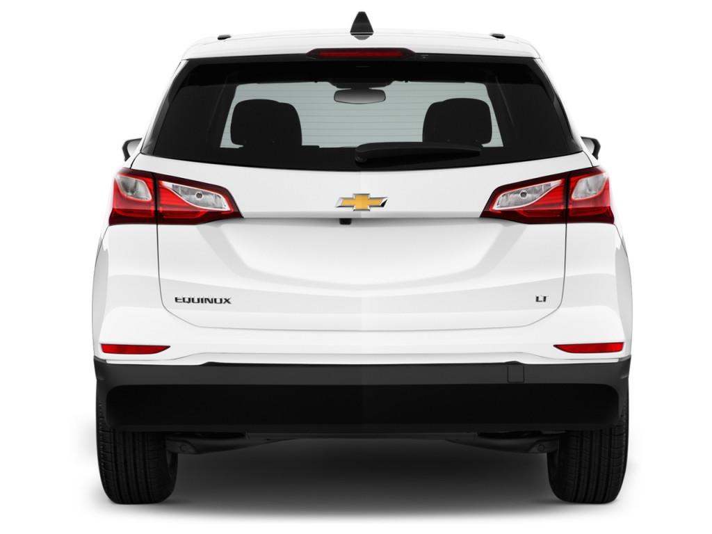 Image 2018 Chevrolet Equinox Fwd 4 Door Lt W 1lt Rear