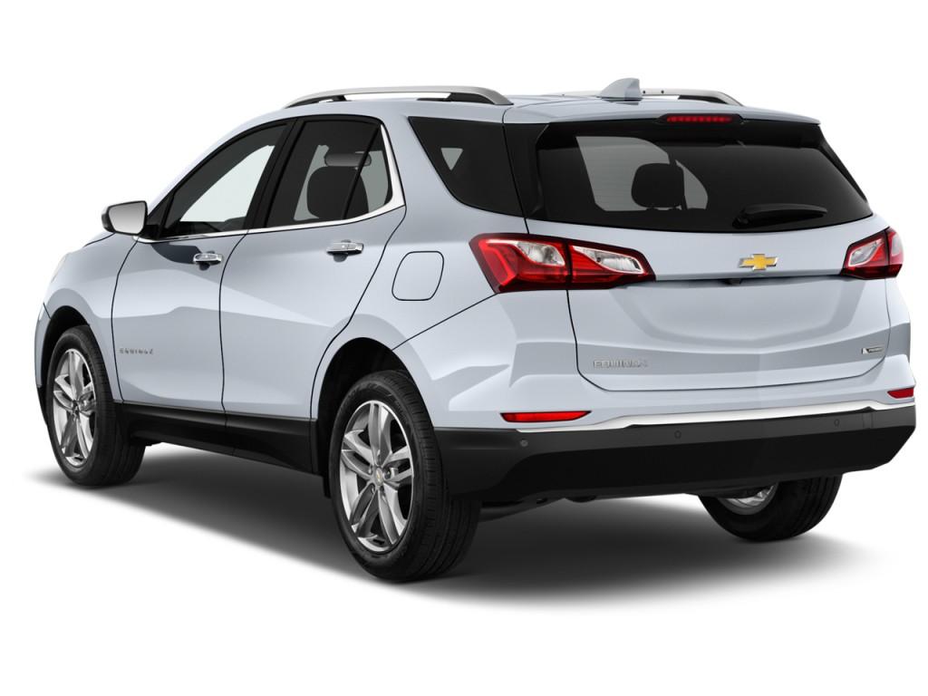 Image 2018 Chevrolet Equinox Fwd 4 Door Premier W 1lz Angular Rear Exterior View Size 1024 X