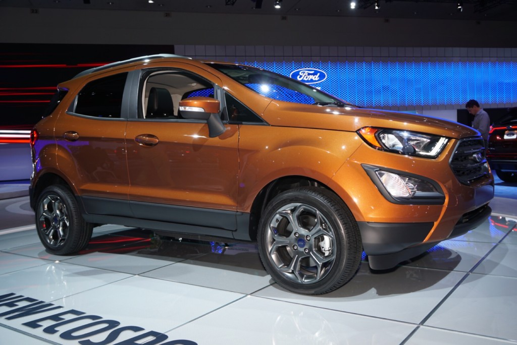 image 2018 ford ecosport 2016 los angeles auto show size 1024 x 684 type gif posted on. Black Bedroom Furniture Sets. Home Design Ideas