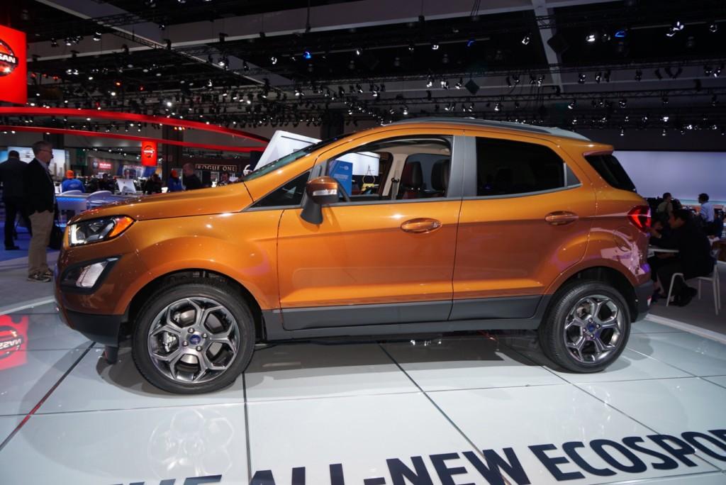 Image: 2018 Ford Ecosport, 2016 Los Angeles Auto Show ...