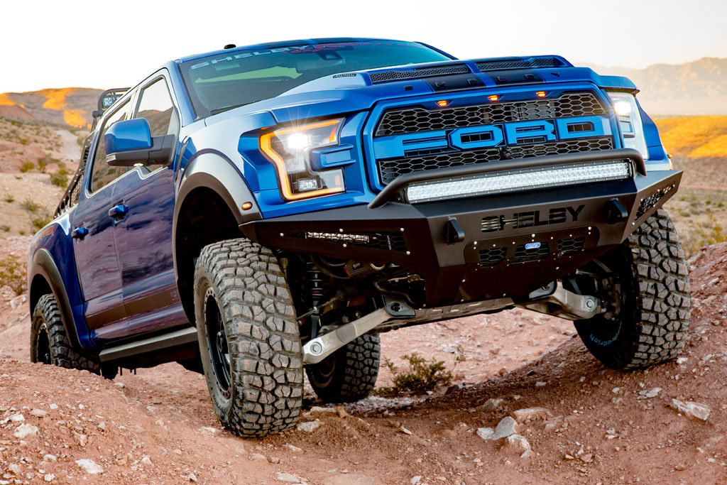 ford shelby raptor roars   horsepower