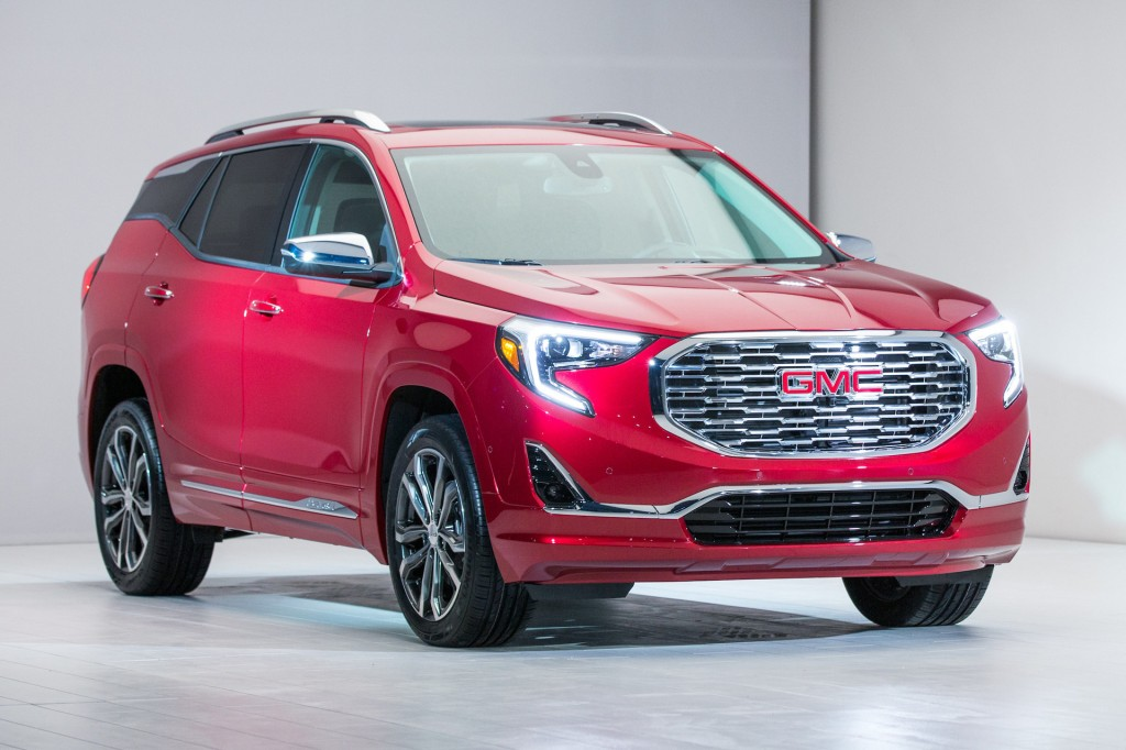 2018 GMC Terrain preview