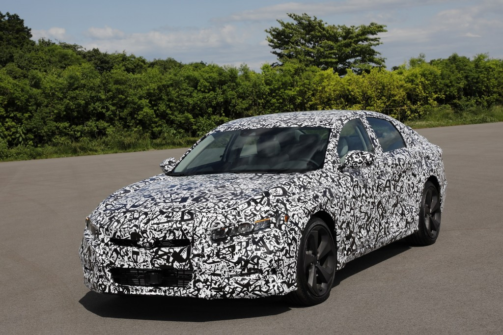 2018 Honda Accord prototype first drive: V-6 deep-sixed, and better