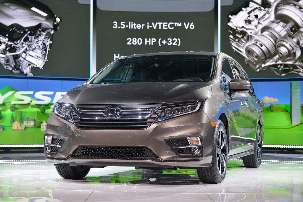 2018 Honda Odyssey video preview