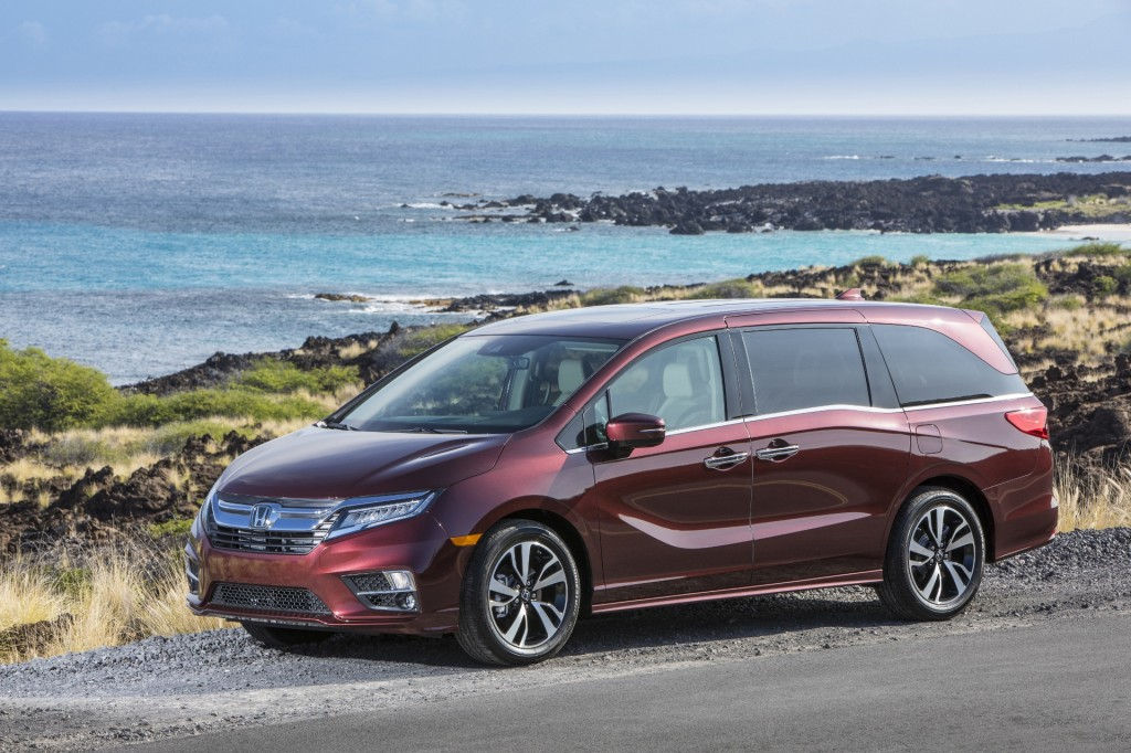 2018 Honda Odyssey boasts premium pricing, lots of amenities