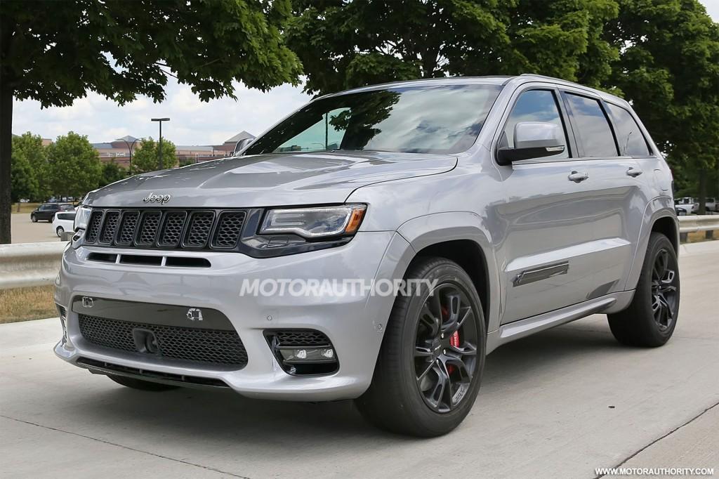 Image 2018 Jeep Grand Cherokee Trackhawk Spy Shots Image Via S Baldauf Sb Medien Size 1024
