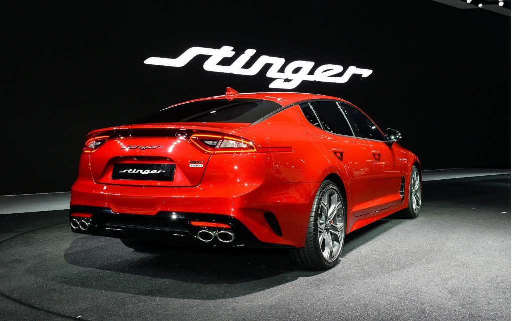 Image: 2018 Kia Stinger, 2017 Seoul auto show, size: 1024 x 643, type: gif, posted on: March 30 ...