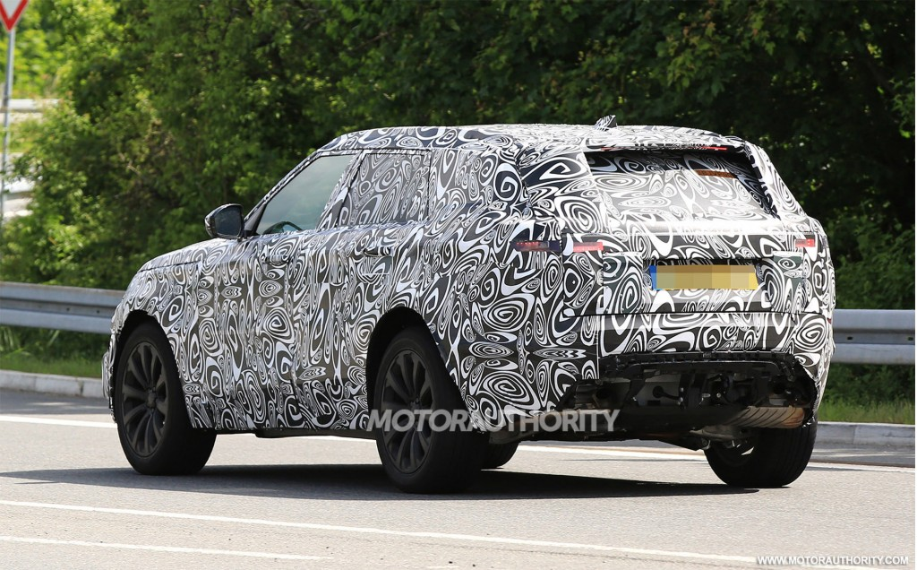 Image 2018 land rover range rover sport coupe spy shots for A123 service honda civic