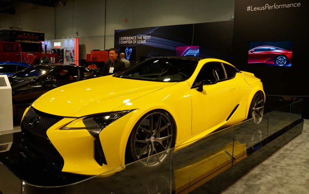 Electric Pickup Truck >> Image: 2018 Lexus LC 500 by Gordon Ting/Beyond Marketing, 2016 SEMA show, size: 1024 x 645, type ...