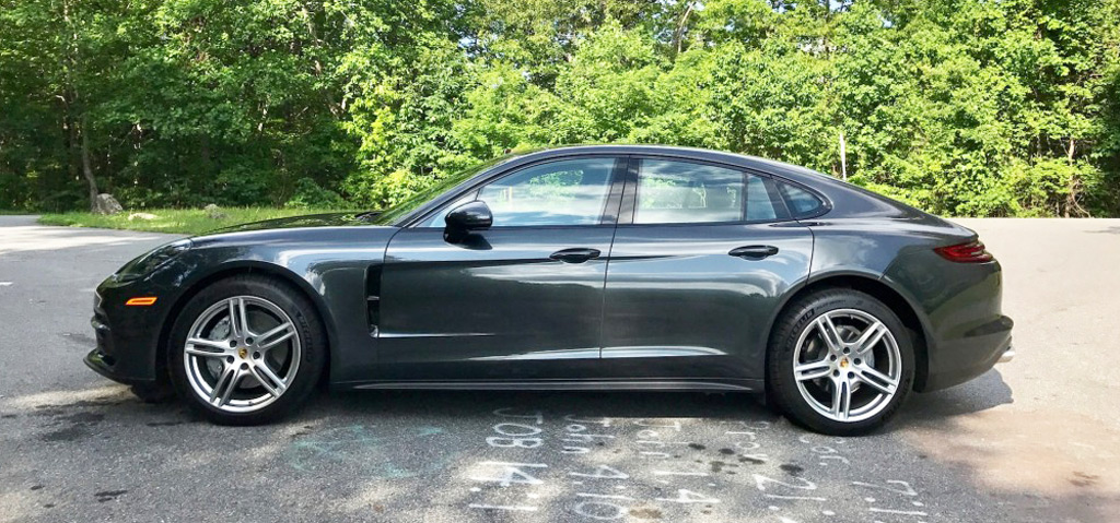 2018 porsche panamera 4s first drive review the quiet. Black Bedroom Furniture Sets. Home Design Ideas