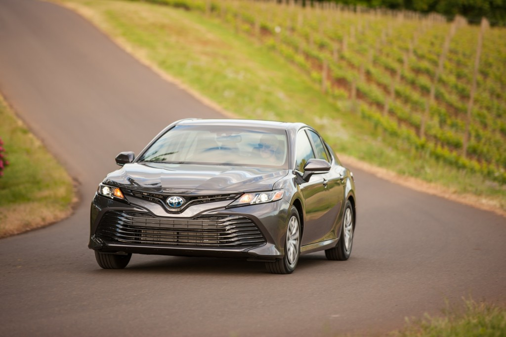 2018 Toyota Camry and Camry Hybrid first drive