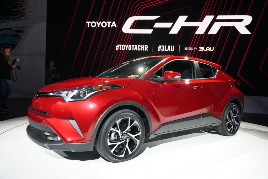 2018 Toyota C-HR video preview