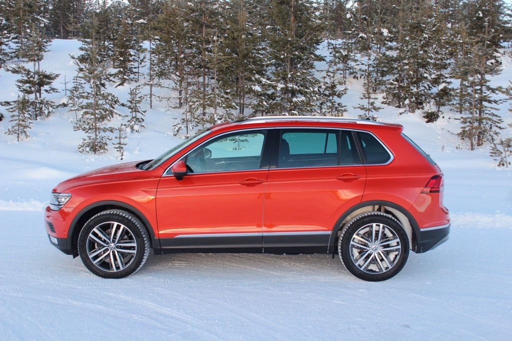 2018 Volkswagen Tiguan Preview The Car Connection