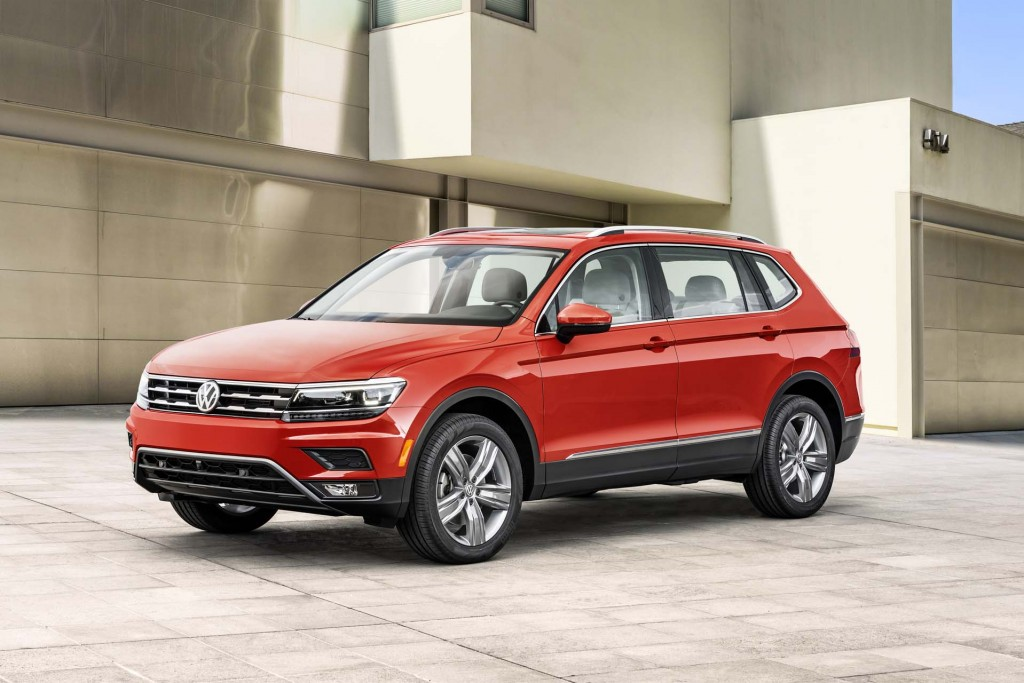 Front-line four: Driving the 2018 Volkswagen Tiguan's next 4-cylinder engine