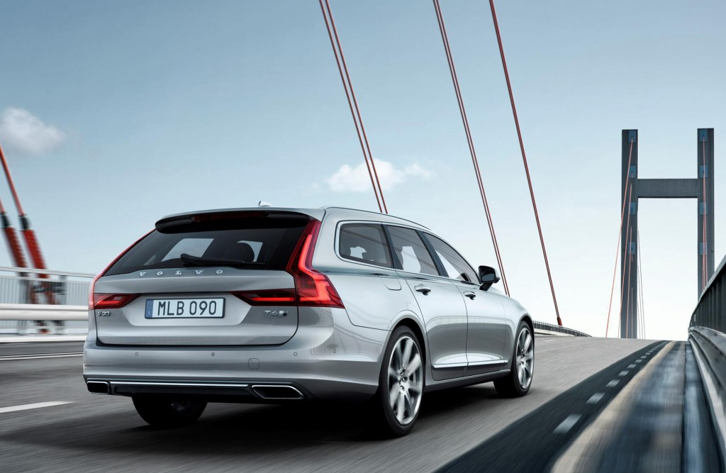 2017 Volvo V90 to sticker from $50,945