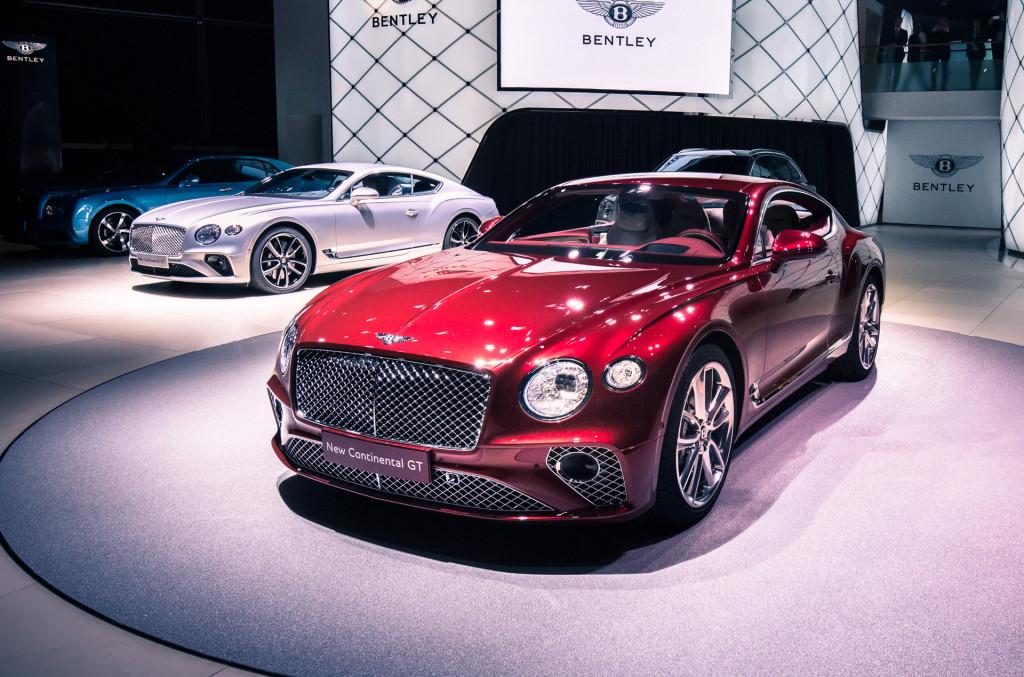 Image 2018 Bentley Continental Gt 2017 Frankfurt Motor