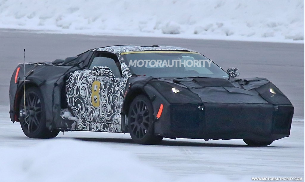 Image: 2019 Chevrolet Corvette (C8) spy shots - Image via ...