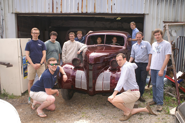 '39 Pontiac Electric Car Conversion (© Roanoke College)