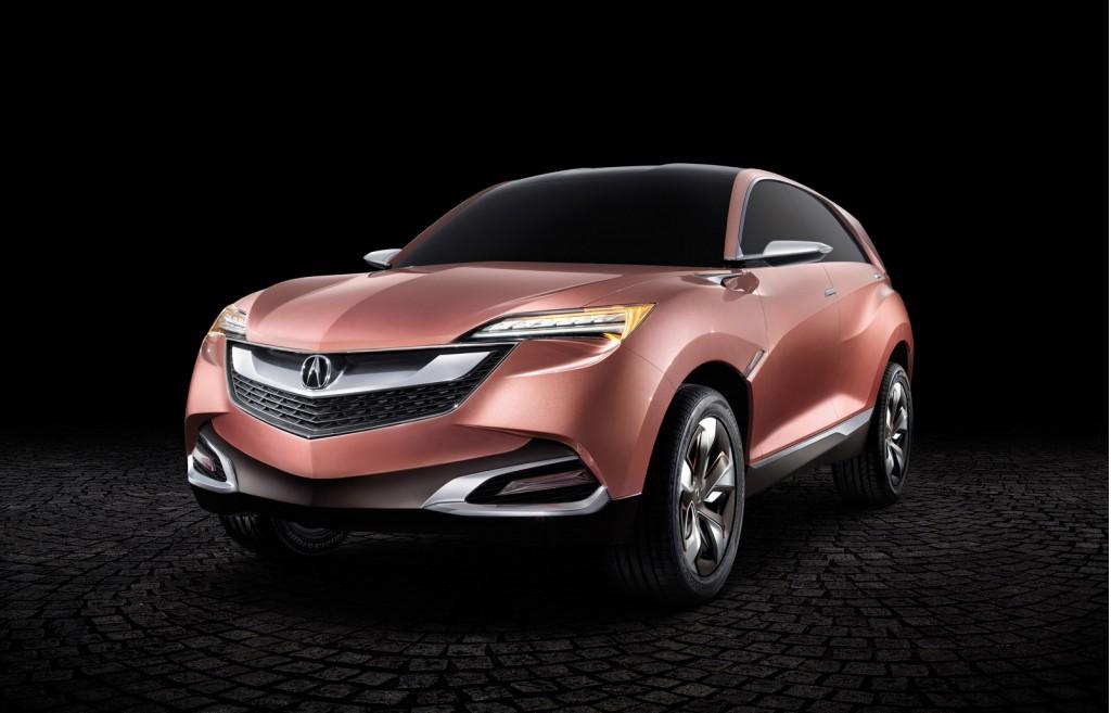 Acura SUV-X concept, 2013 Shanghai Auto Show