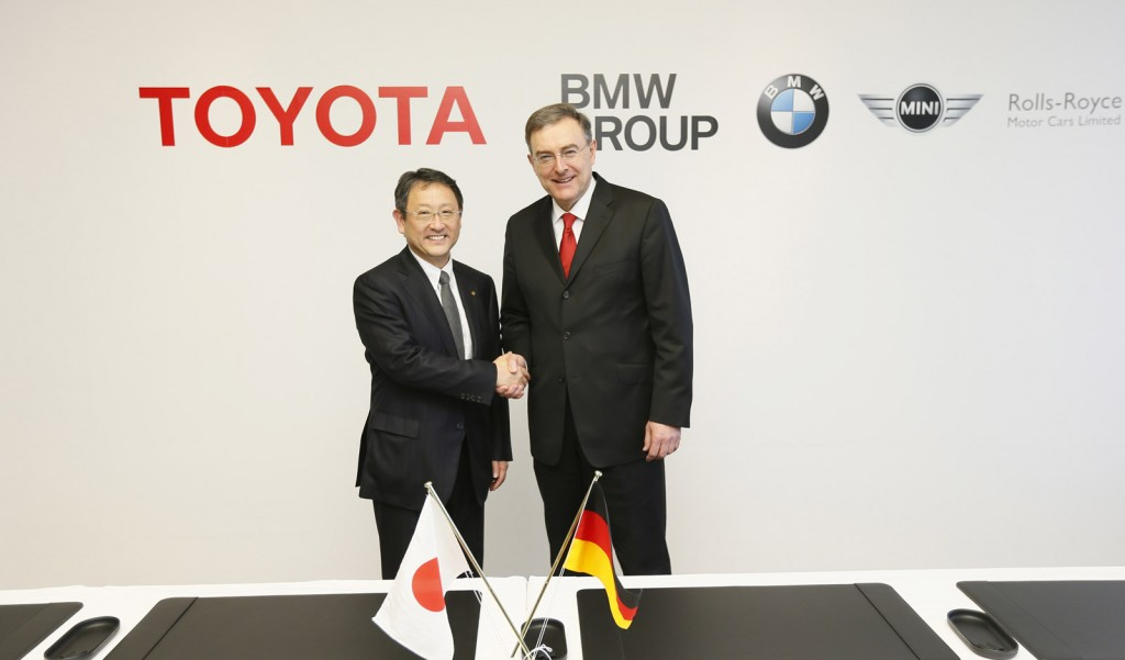 Akio Toyoda and Norbert Reithofer