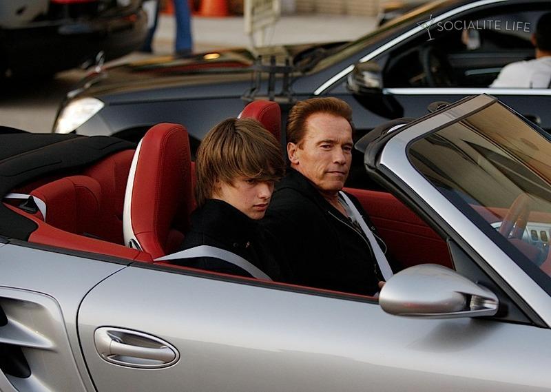 Schwarzenegger S Porsche 911 Cabrio Spotlights Arnie S Angst