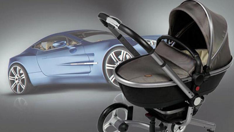 Aston Martin pram by Silver Cross - Image: Carsguide