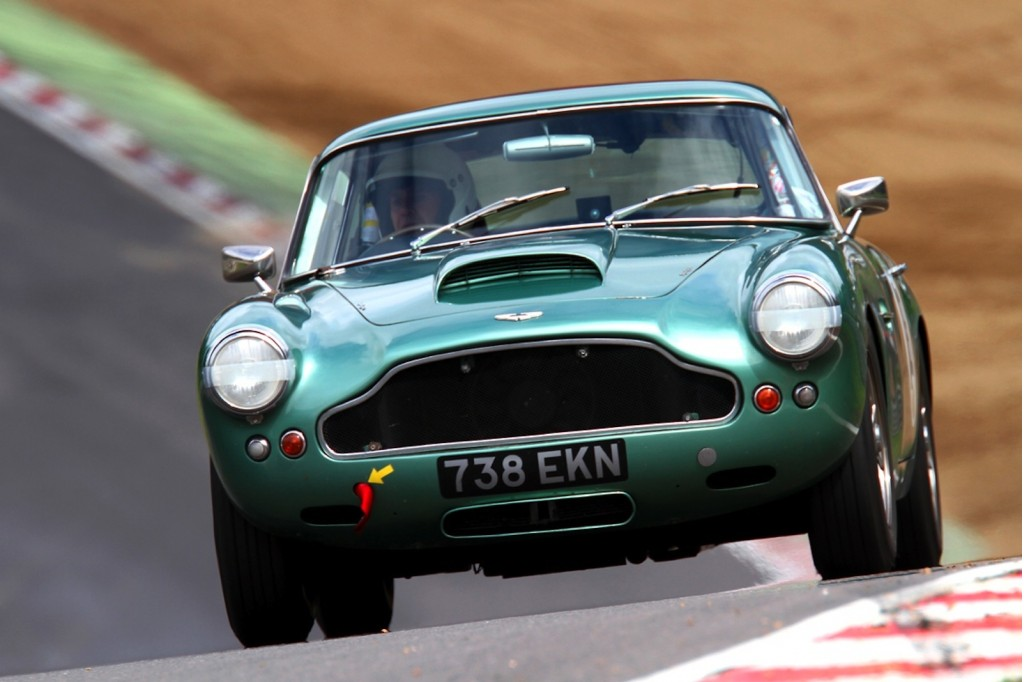Aston Martin's centenary celebration includes vintage racing at Brands Hatch - image: Aston Martin