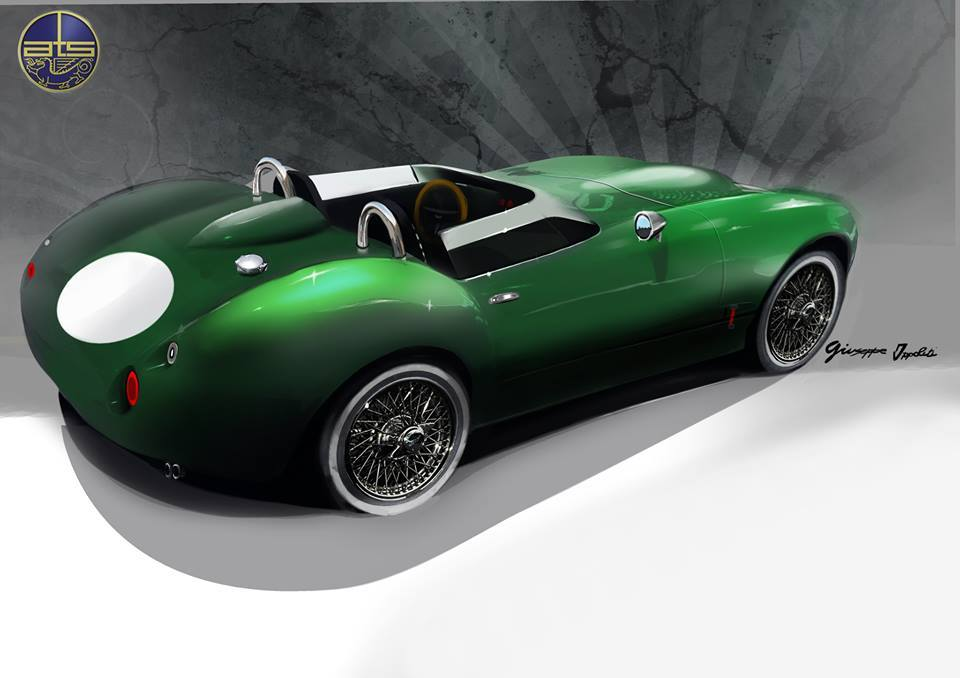 ATS 300 Leggera sports car revealed